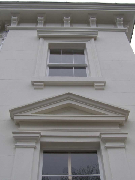 Render pediment