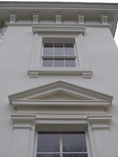Render pediment