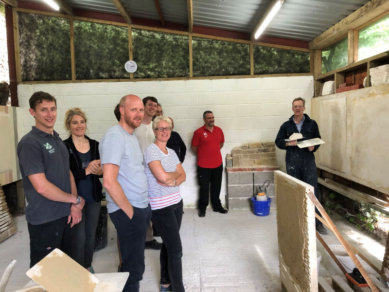 Lime repairs or refurbishment training